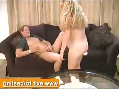 Porn casting interview naive blondie..