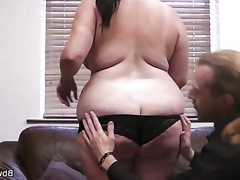 Young bbw slut fucked after a shoot