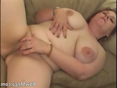 Busty big boobed brunette slut with fat