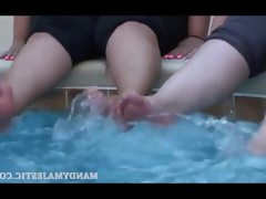Cute feet with mandy majestic