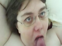 Fat slut moms alway swallow