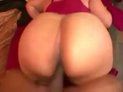 Bbw latina lingerie show and get fucked