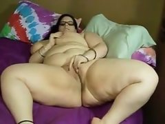 Bbw on the bed