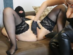 His wife hard fisted! Femdom to female..