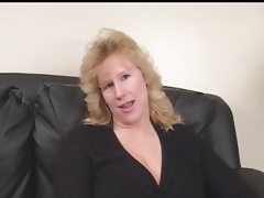 Bbw milf on her casting gets two black..