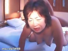 Old busty asian chick with big boobs